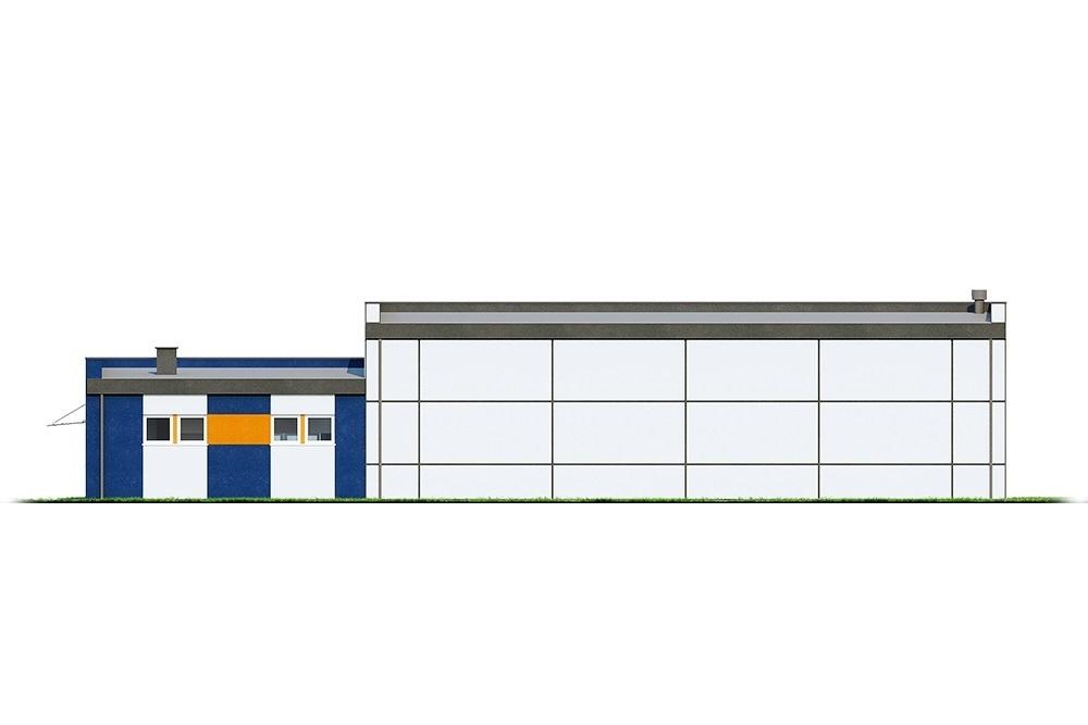 Projekt LK-122 - elewacja