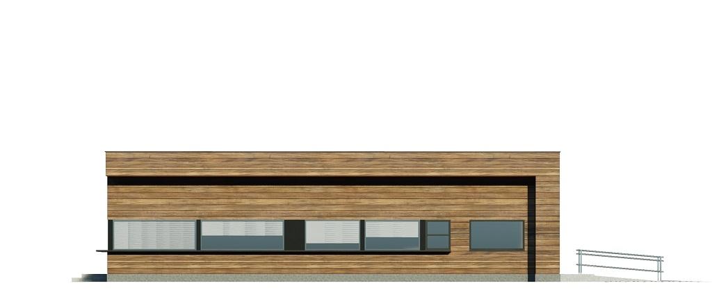 Projekt K-125 - elewacja