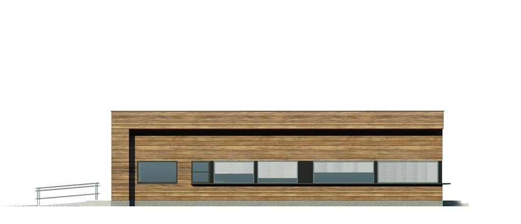 Projekt LK-125 - elewacja