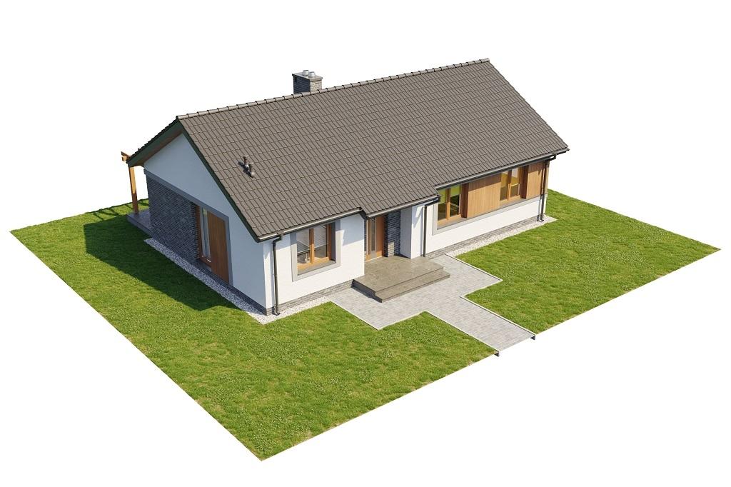 Projekt domu DM-6616 B - model