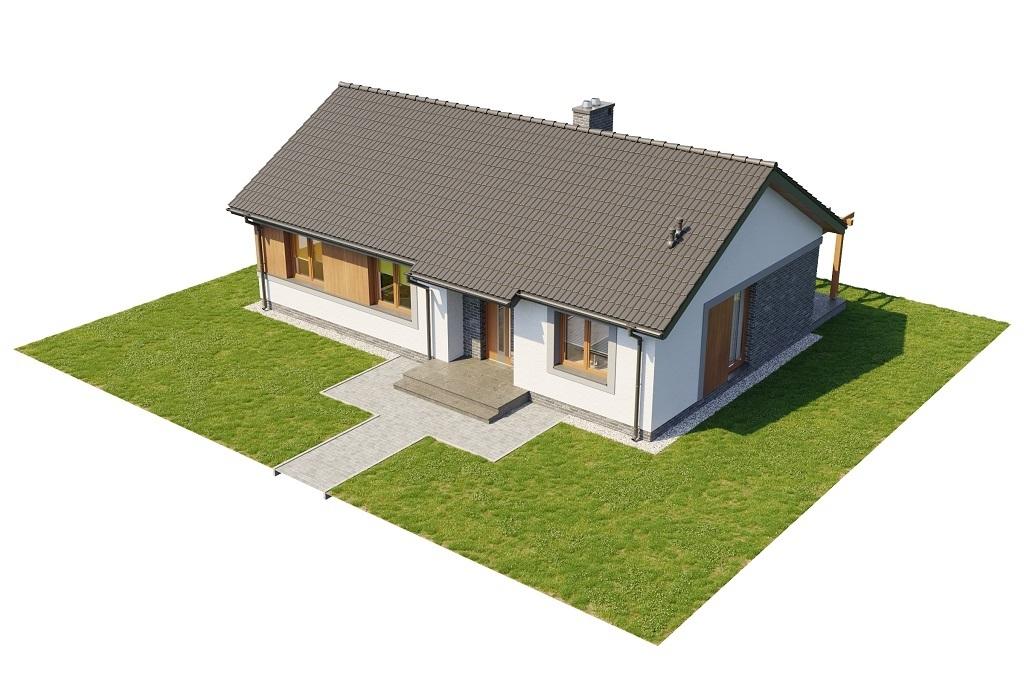 Projekt domu L-6616 B - model