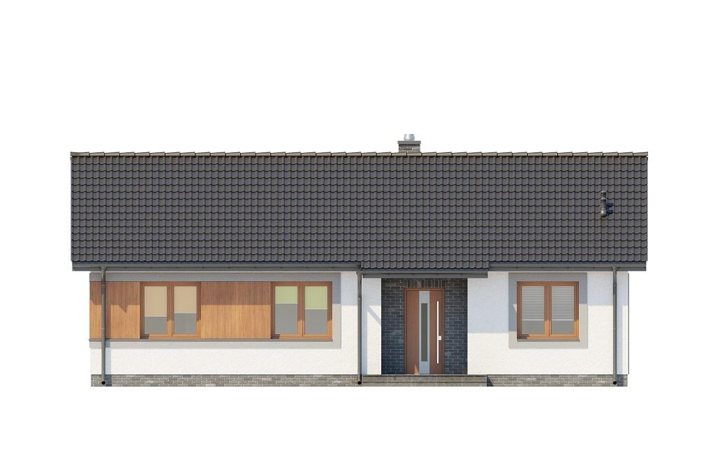 Projekt domu L-6616 B - elewacja