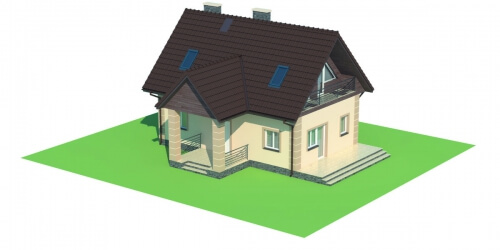 Projekt domu DM-5570 - model