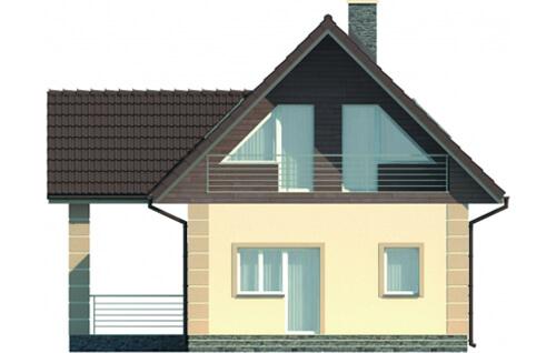 Projekt domu DM-5570 - elewacja