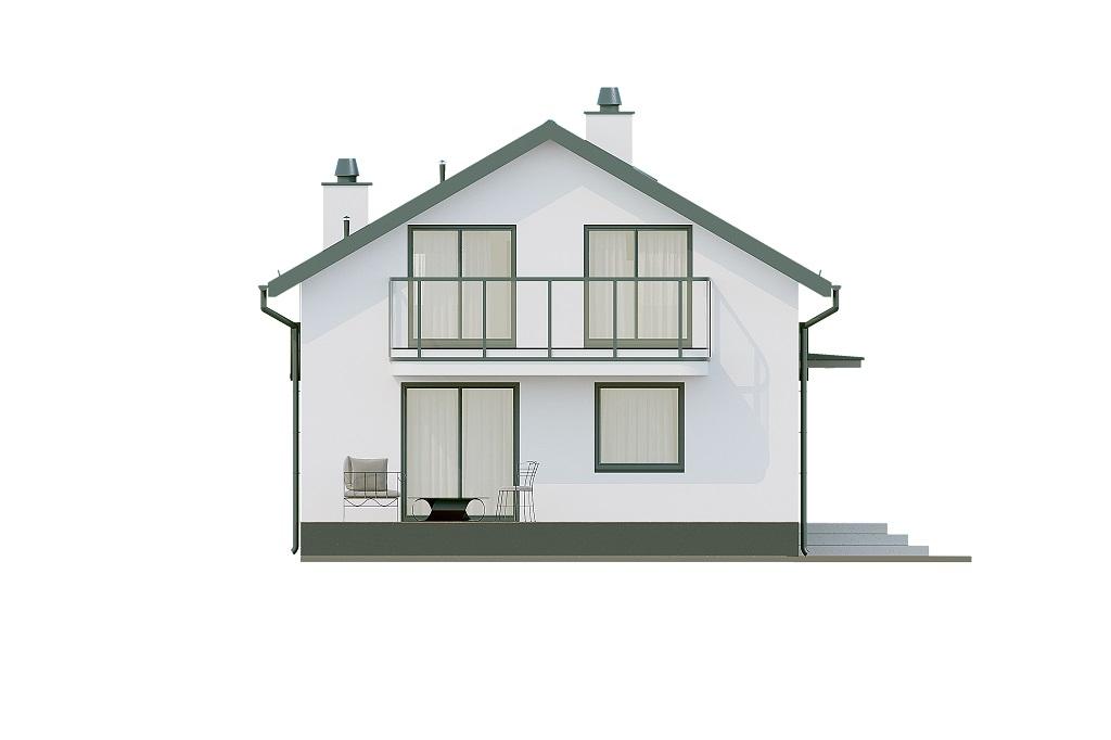 Projekt domu DM-6716 - elewacja