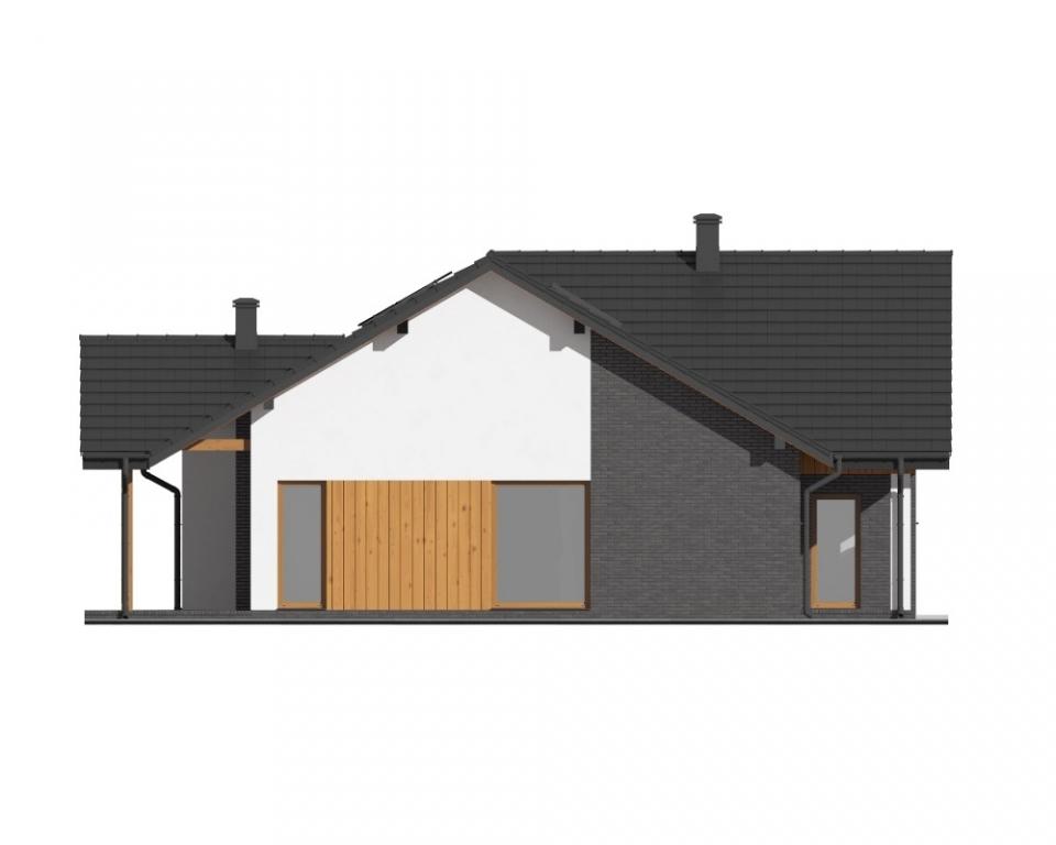 Projekt domu L-6712 - elewacja