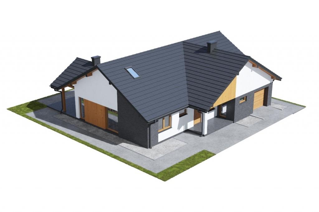 Projekt domu L-6712 - model