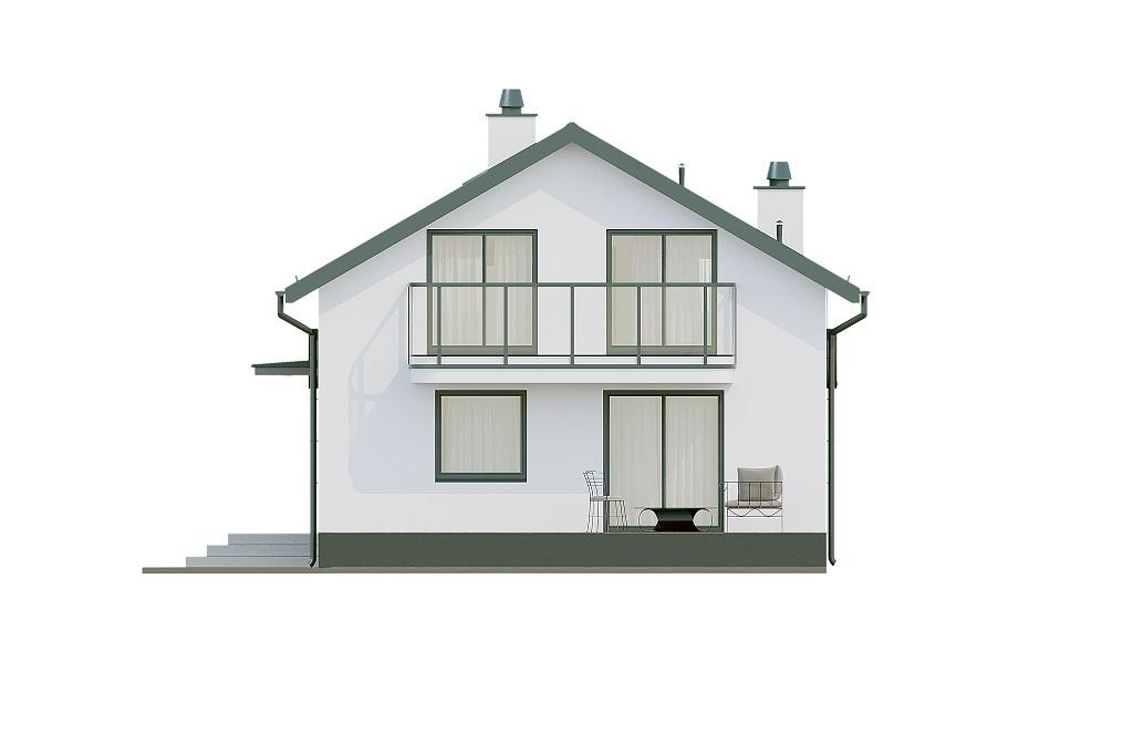 Projekt domu L-6716 - elewacja
