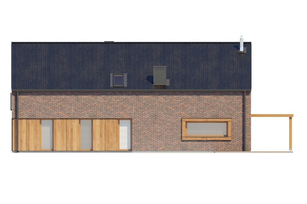 Projekt domu DM-6709 - elewacja