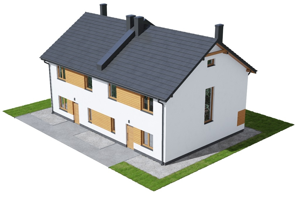 Projekt domu DM-6727 - model