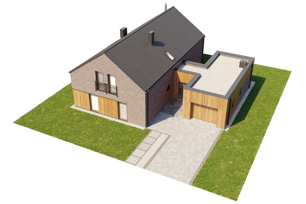 Projekt domu L-6709 - model