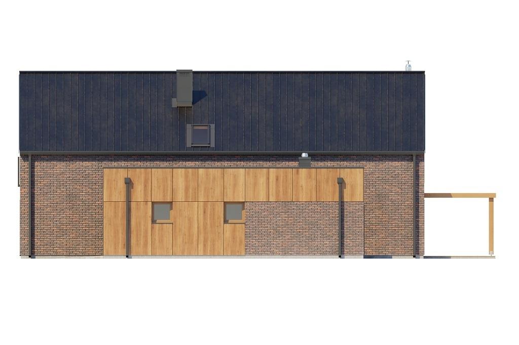 Projekt domu L-6709 - elewacja