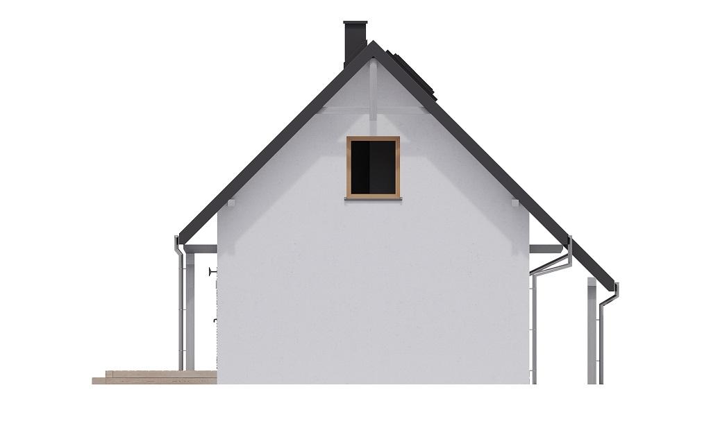 Projekt domu DM-6700 - elewacja