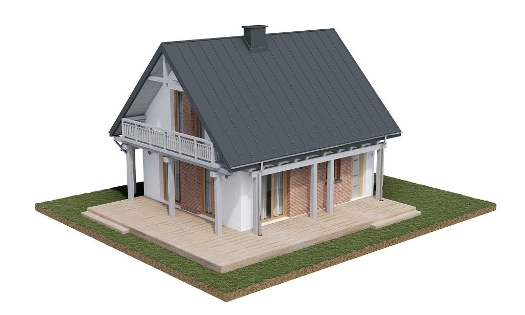 Projekt domu DM-6700 - model