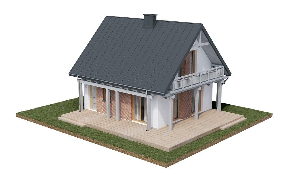 Projekt domu L-6700 - model