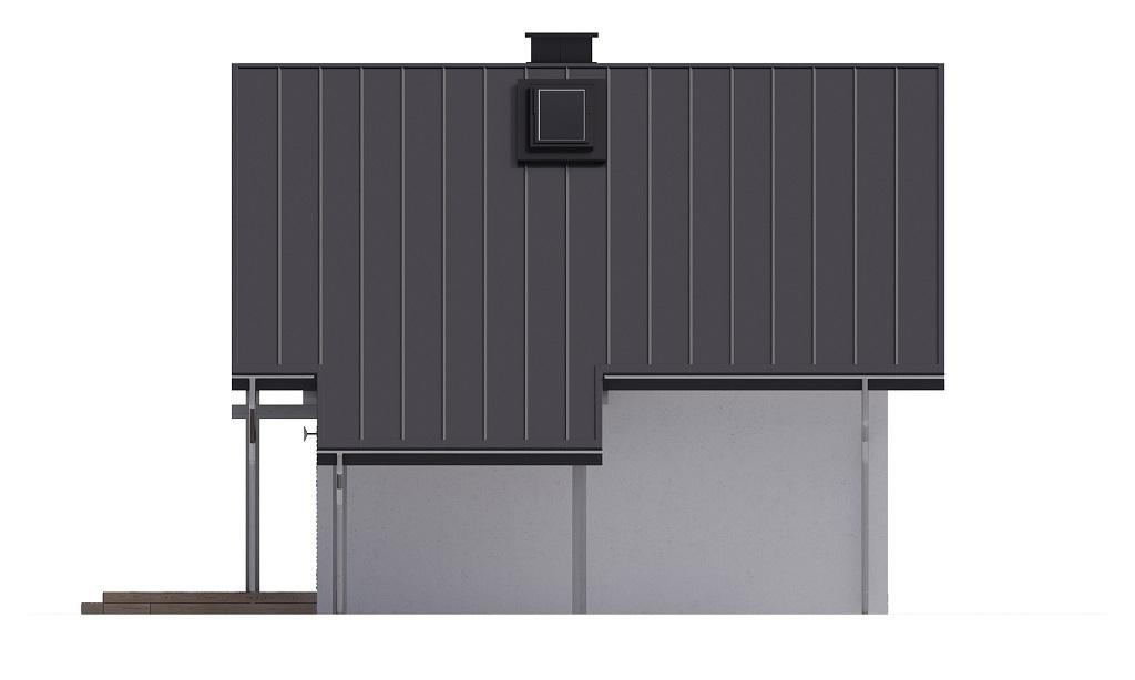 Projekt domu L-6700 - elewacja