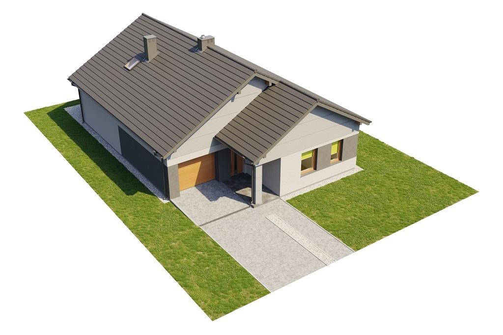 Projekt domu DM-6708 - model
