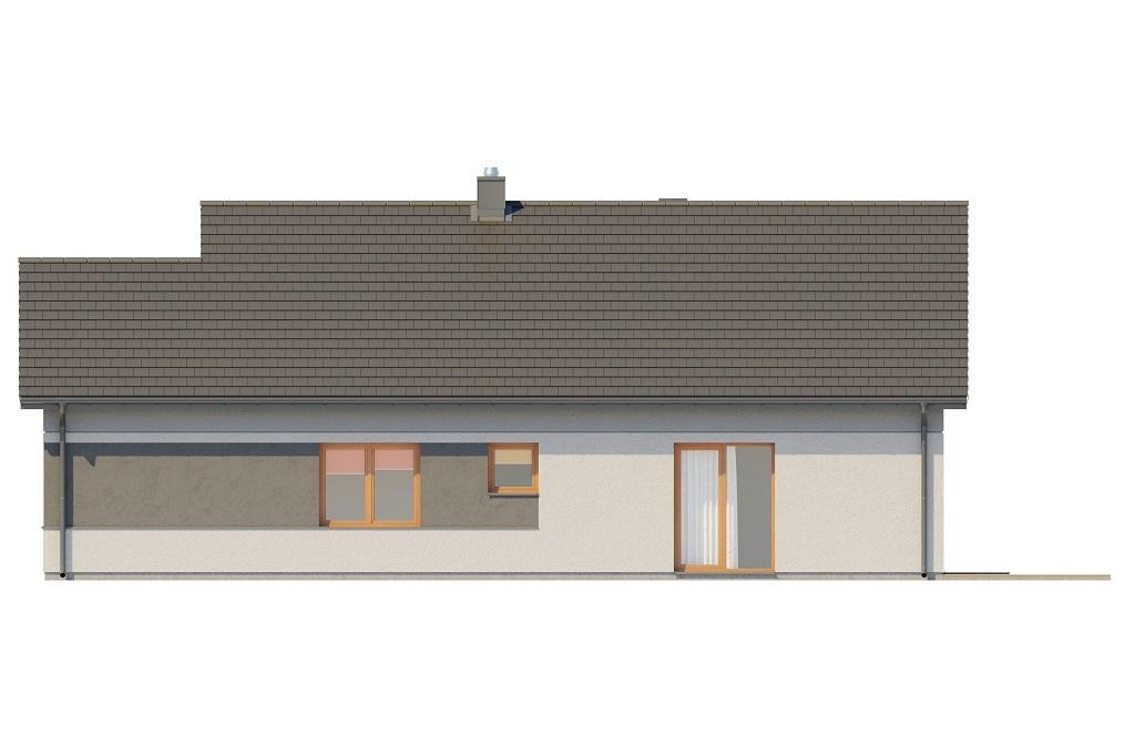 Projekt domu DM-6708 - elewacja