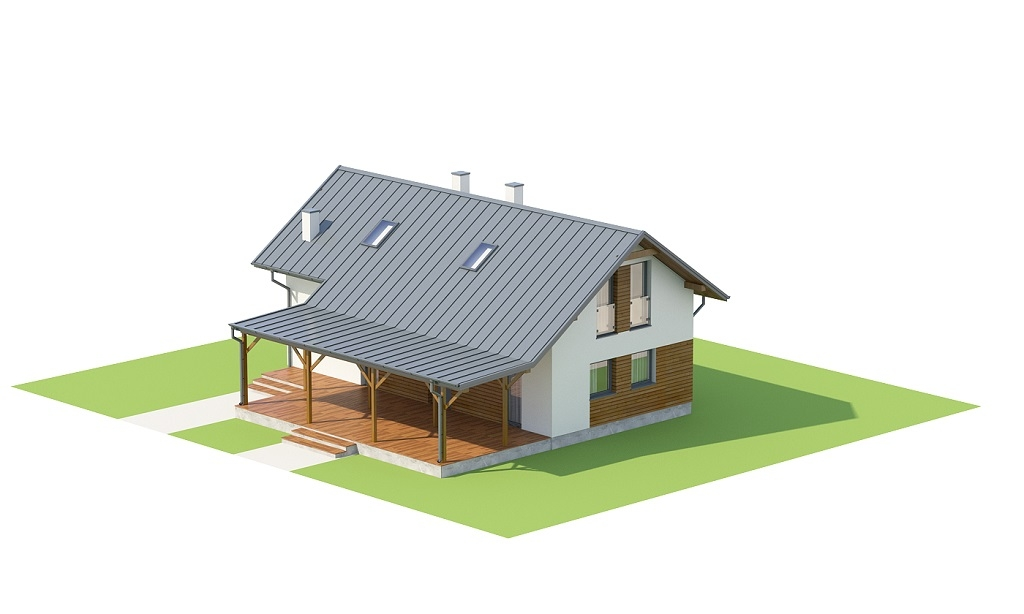 Projekt domu DM-6737 - model