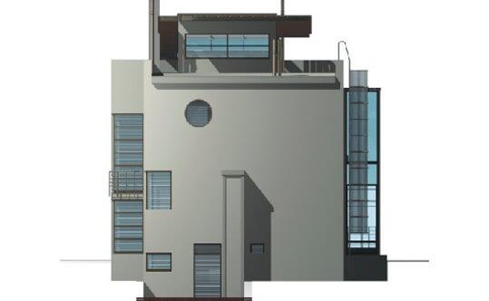Projekt K-02 - elewacja