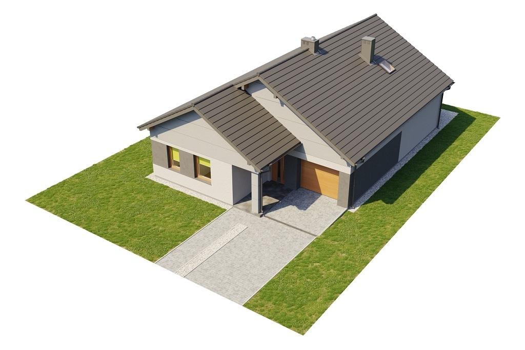 Projekt domu L-6708 - model
