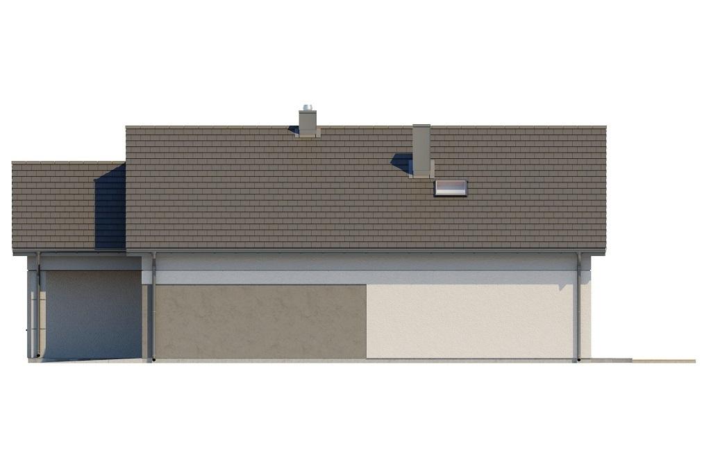 Projekt domu L-6708 - elewacja