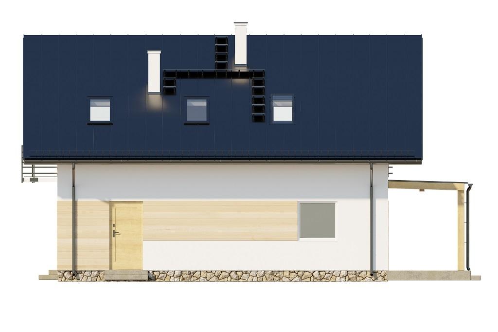 Projekt domu DM-6720 - elewacja