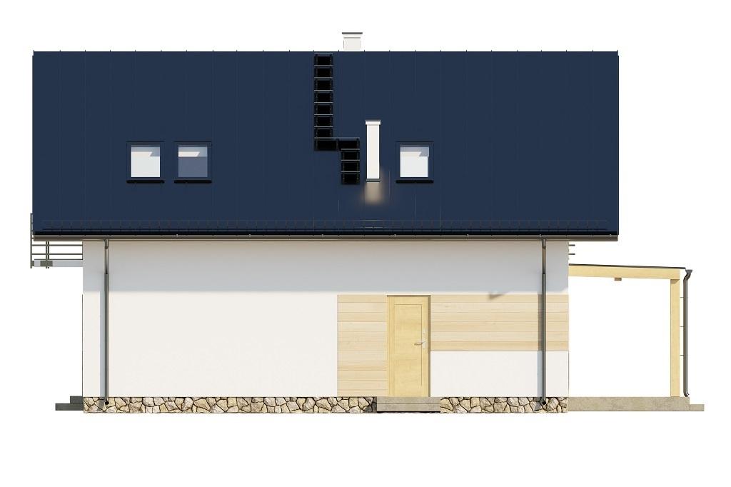 Projekt domu L-6720 - elewacja