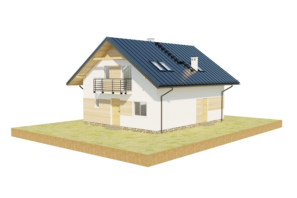 Projekt domu L-6720 - model