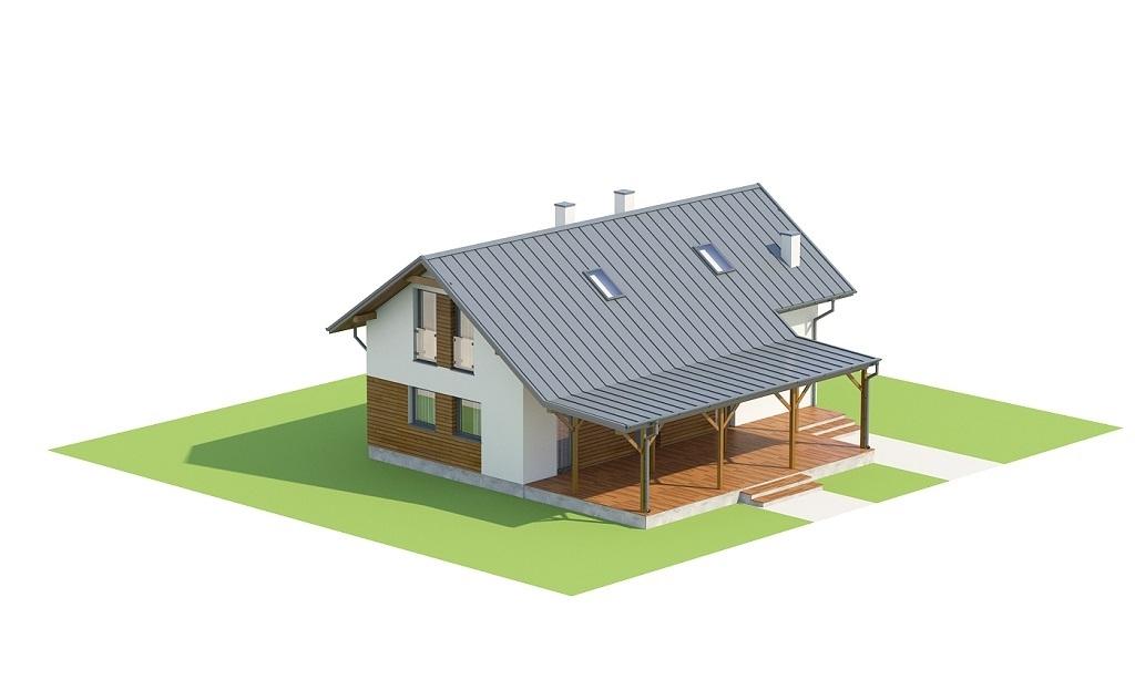 Projekt domu L-6737 - model