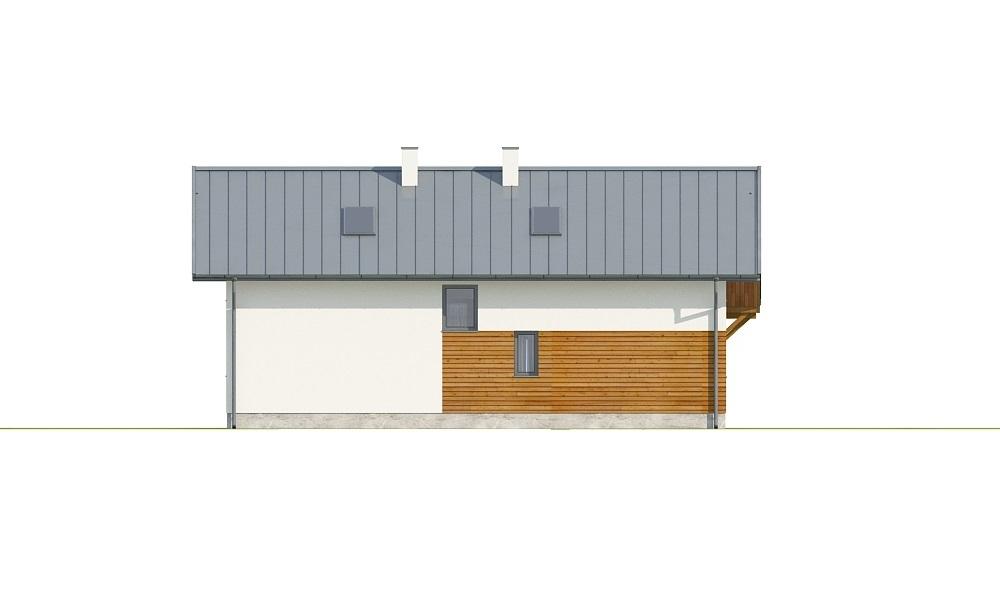 Projekt domu L-6737 - elewacja
