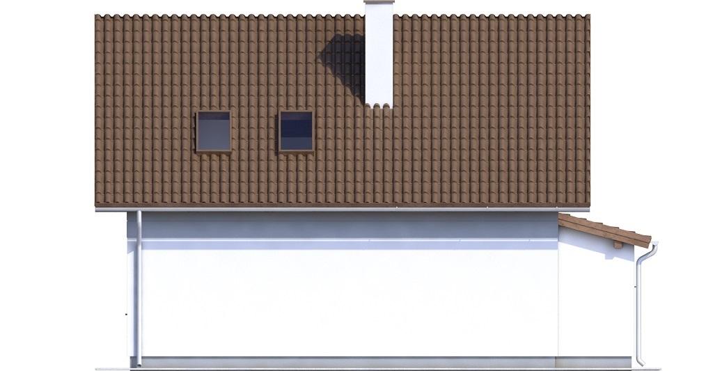 Projekt domu L-6592 N - elewacja