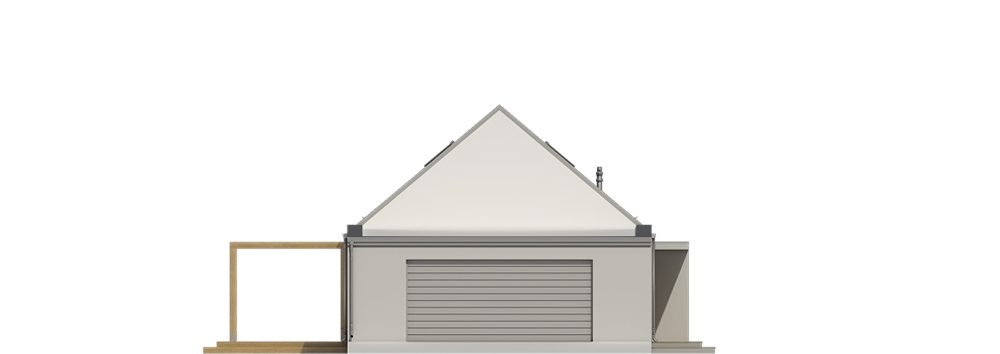 Projekt domu DM-6695 - elewacja