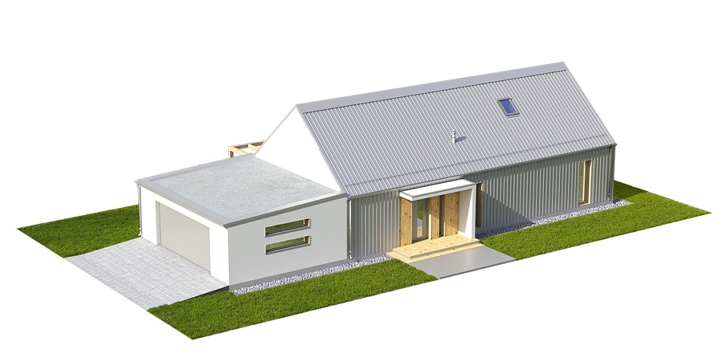Projekt domu DM-6695 - model