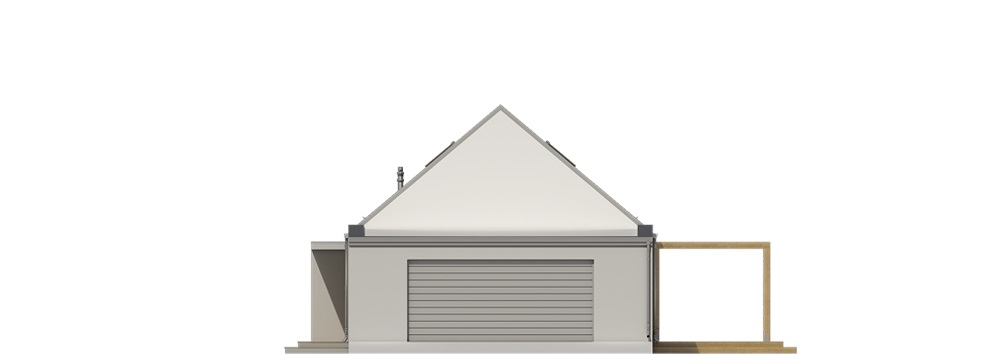 Projekt domu L-6695 - elewacja