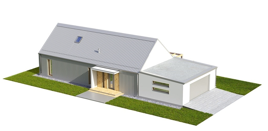 Projekt domu L-6695 - model
