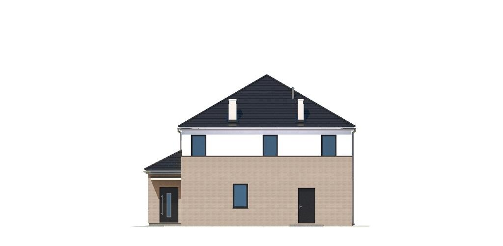 Projekt domu DM-6738 - elewacja