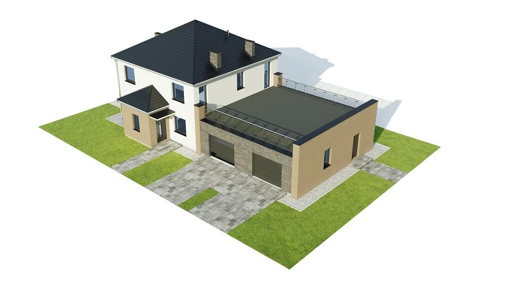 Projekt domu DM-6738 - model