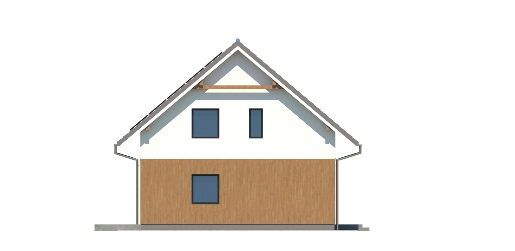 Projekt domu DM-6739 - elewacja