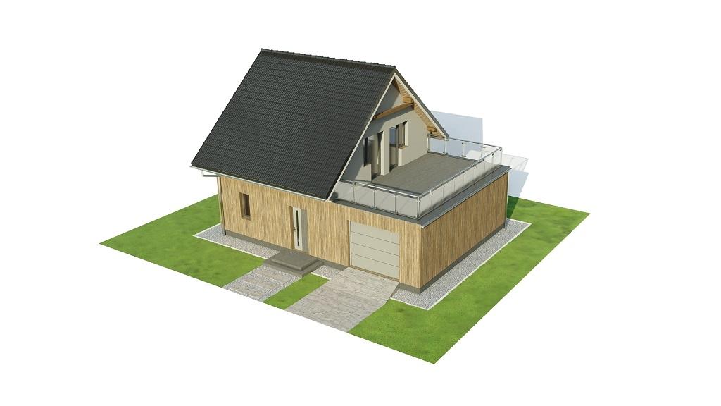 Projekt domu DM-6739 - model
