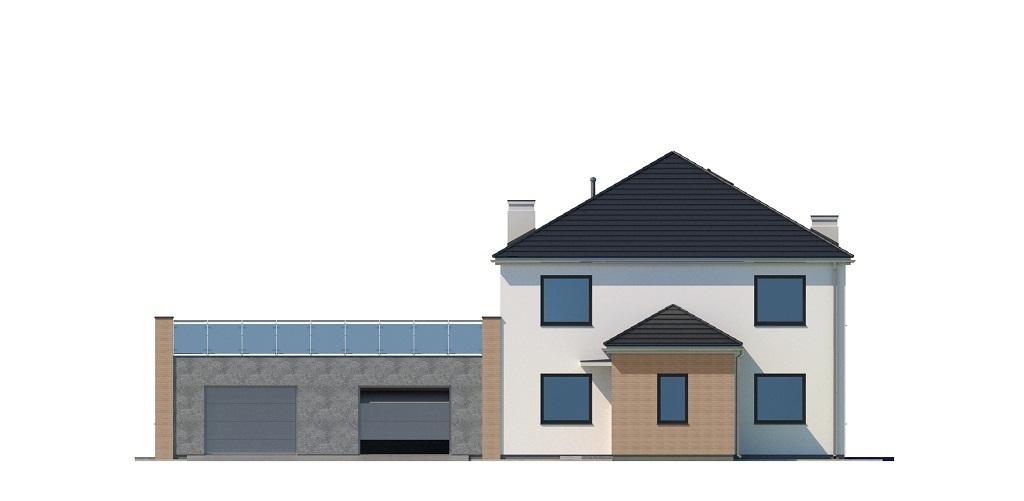 Projekt domu L-6738 - elewacja