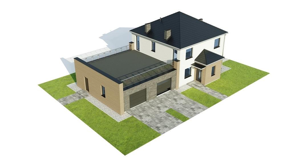 Projekt domu L-6738 - model