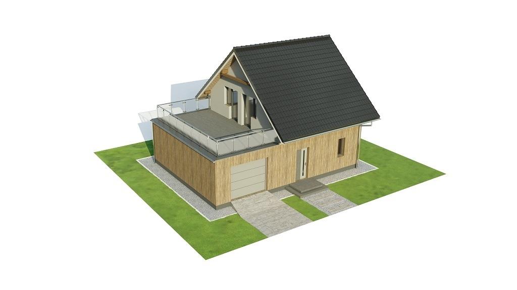 Projekt domu L-6739 - model