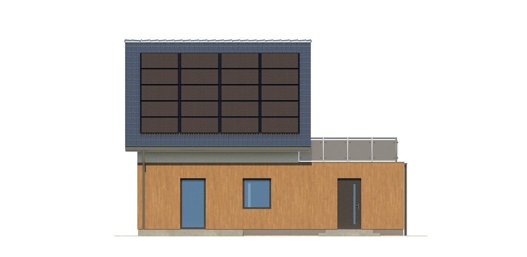 Projekt domu L-6739 - elewacja