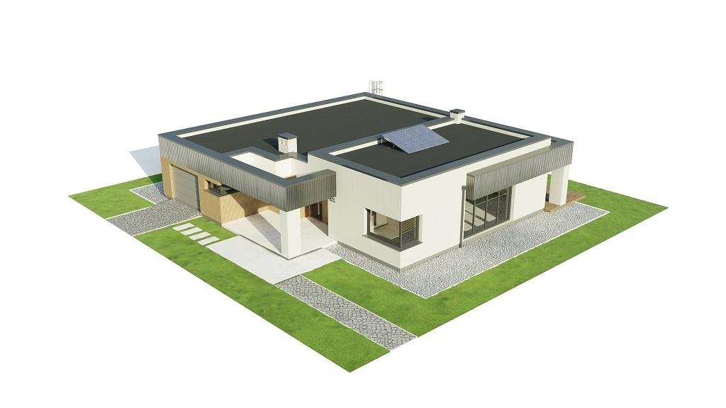 Projekt domu L-6621 B - model