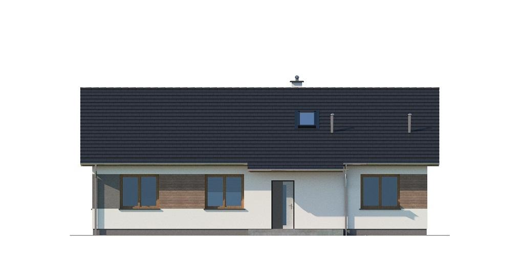 Projekt domu DM-6741 - elewacja