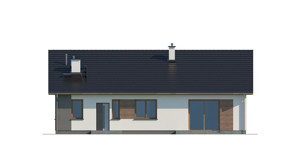Projekt domu L-6741 - elewacja