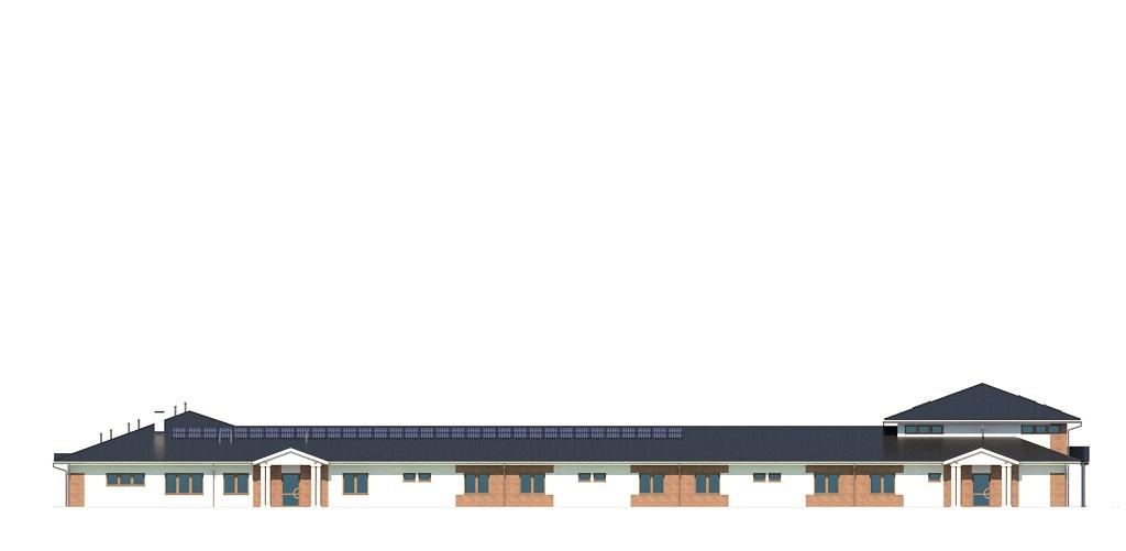 Projekt K-126 - elewacja