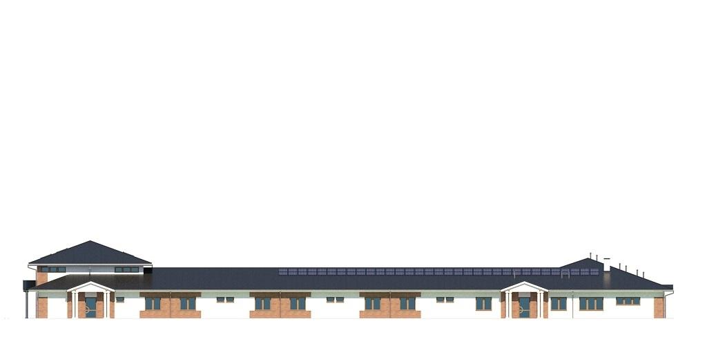 Projekt LK-126 - elewacja