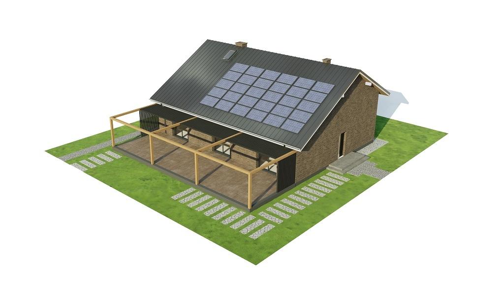 Projekt domu DM-6744 - model